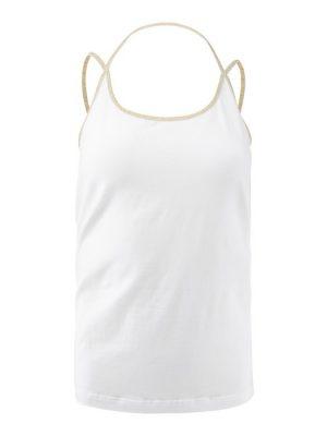 Carlijn-Hemdje Xband-White-XS