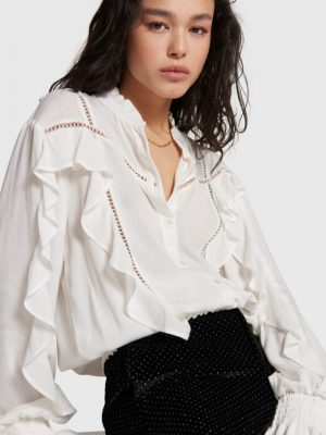 Alix the Label - Blouse Ruffle