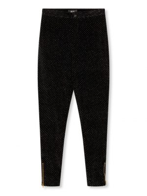 Alix the Label - Dots Velvet Pants