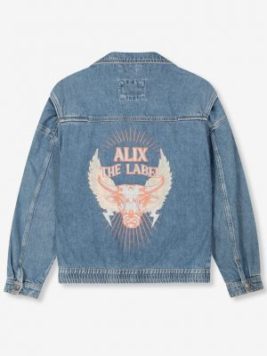 Alix the label - Denim Biker