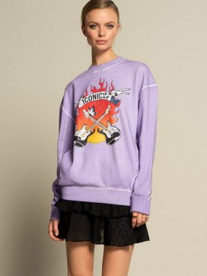 Iconic27 - Sweat Lavender