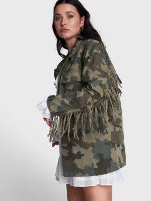Alix the label - Camo Jacket