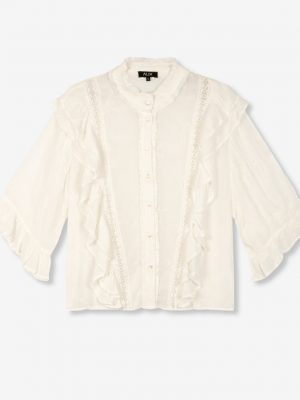 Alix the label - Embroidery Blouse