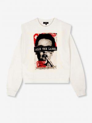Alix the label - Photo Sweater